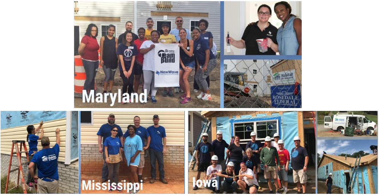 NewWave Supports Habitat for Humanity