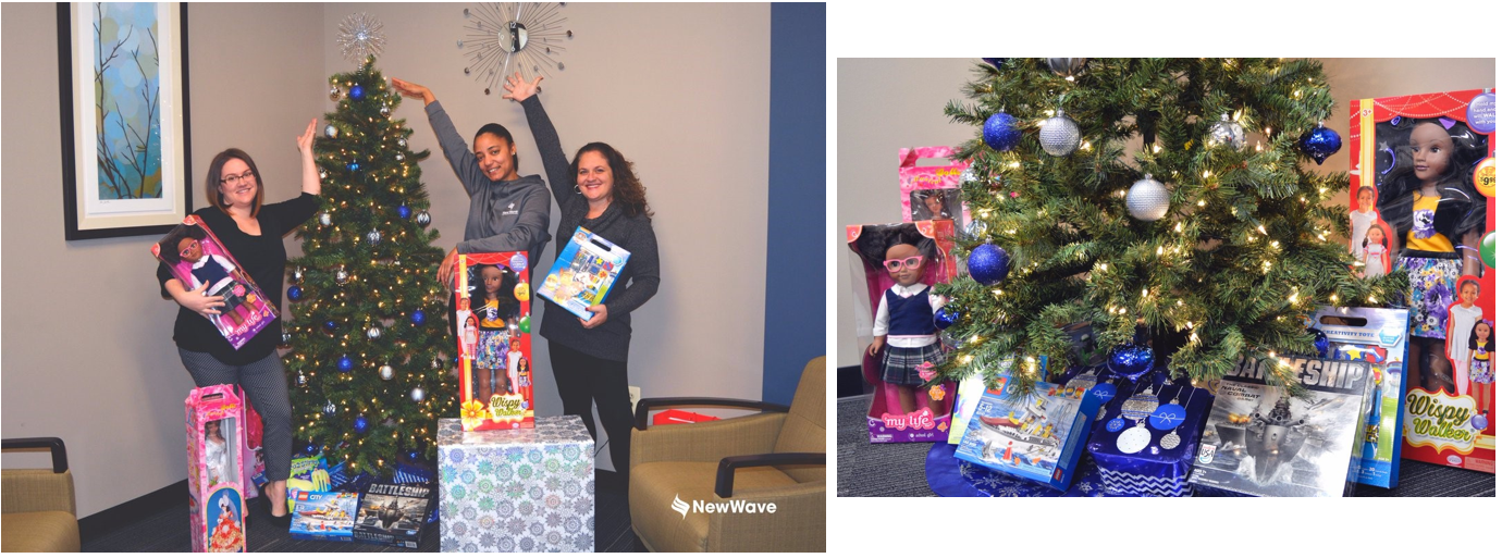 NewWave donates to Make-A-Wish